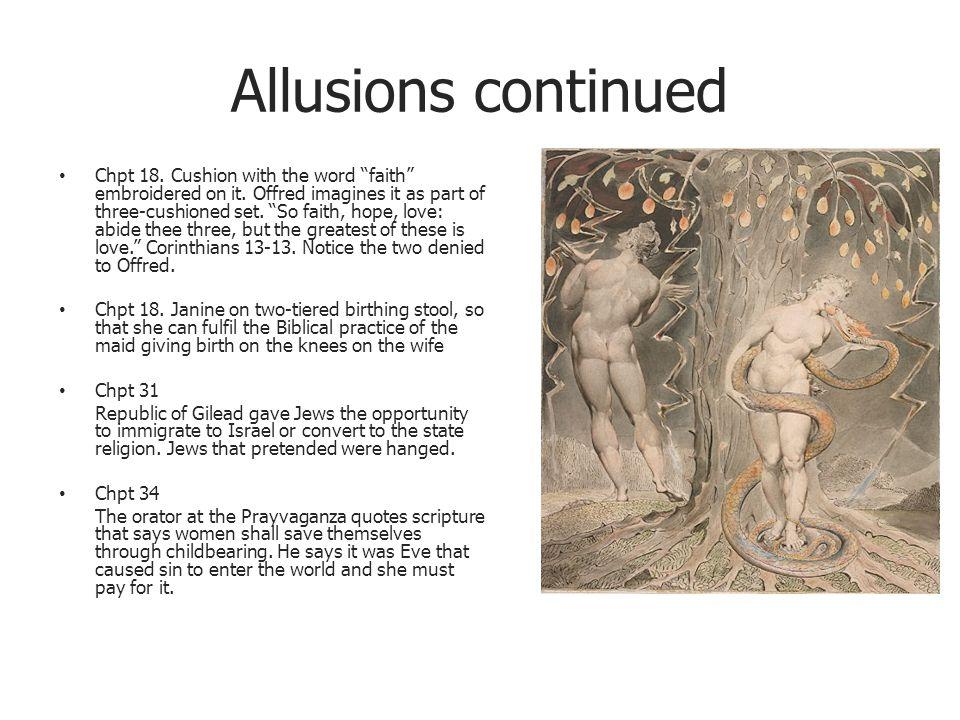 religious allusions