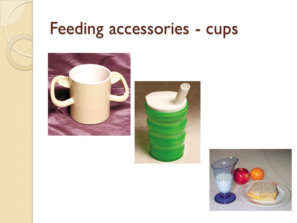 Feeding accessories - cups
