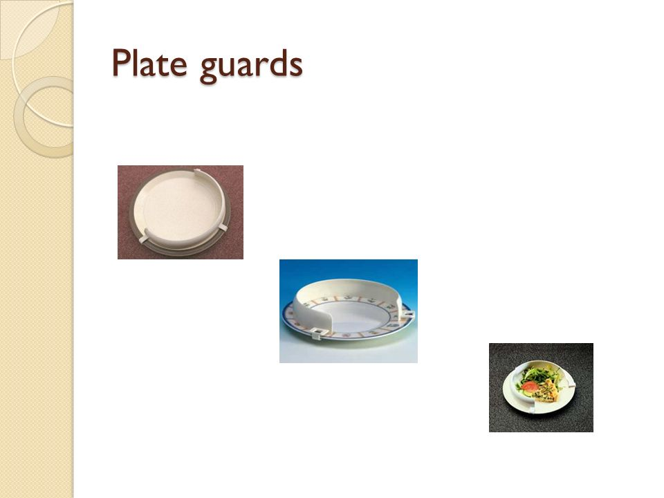 Plate guards