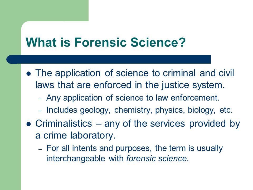 forensic science presentation ideas