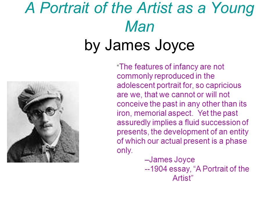 """fb4bd310 A Portrait of the Artist as a Young Man by James Joyce """" The ..."""