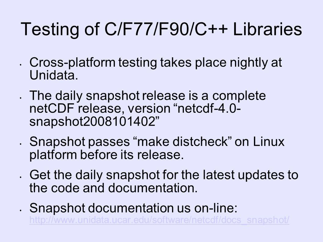 netcdf 4.0.1