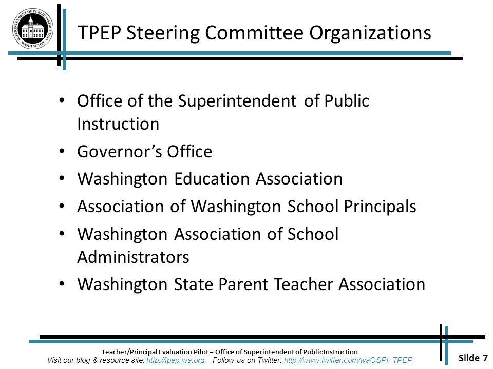 Slide 1 Teacherprincipal Evaluation Pilot Office Of