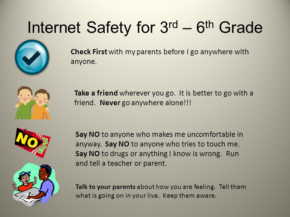 Safety Rules For The Internet Christy Vaughn Edu Ppt Download
