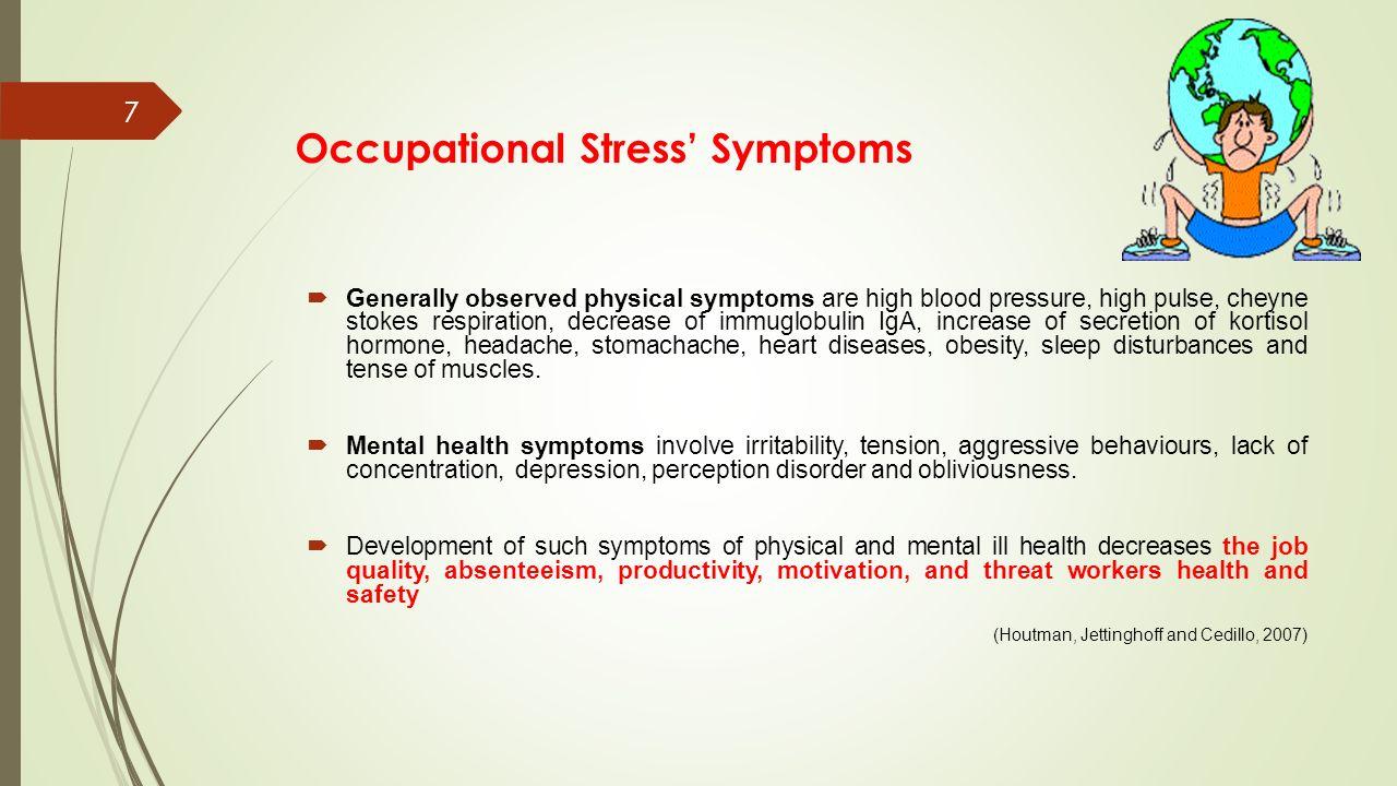 kortisol stress symptom