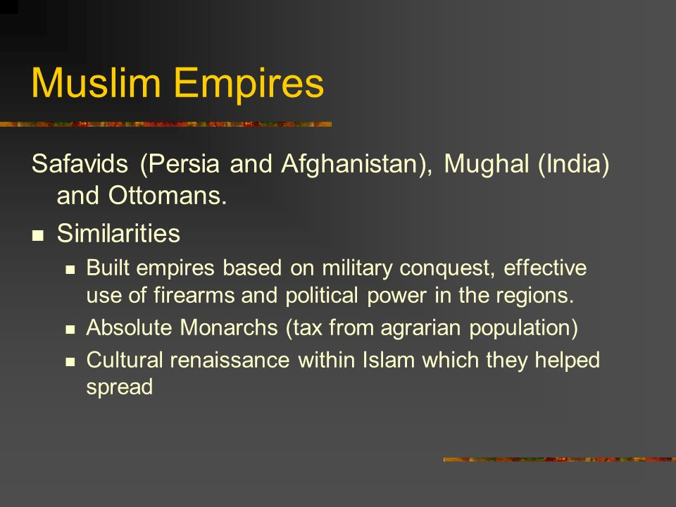 declining muslim empire in india