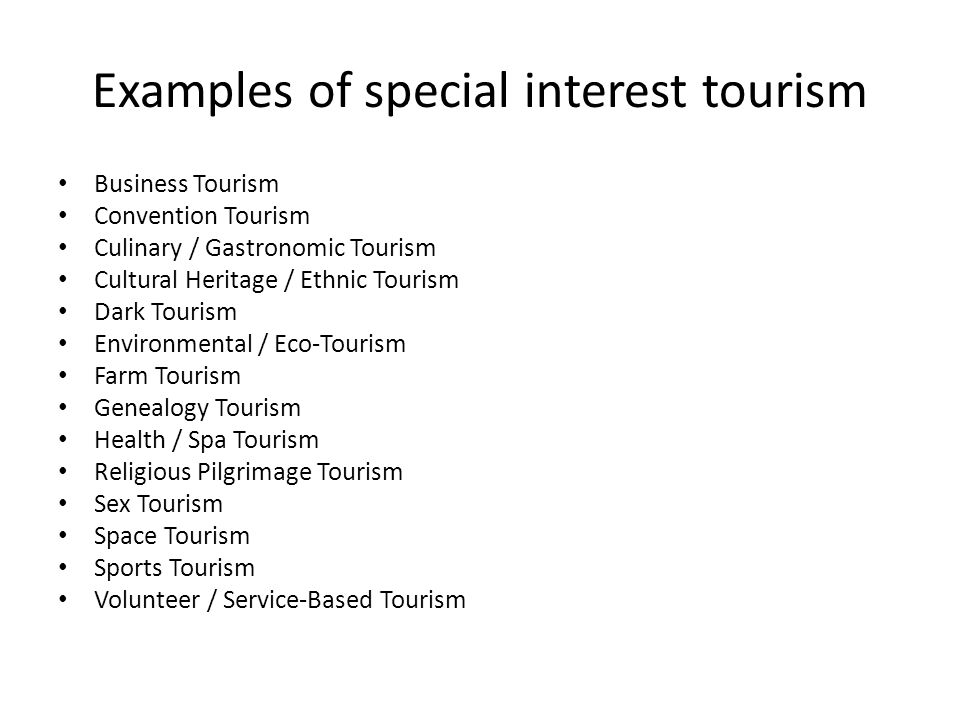Sex tourism and business tourism