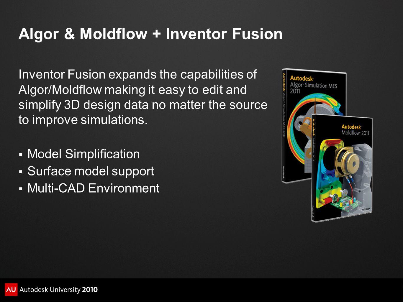 MA120-2R: Using Autodesk® Inventor® Fusion Kevin Schneider Senior