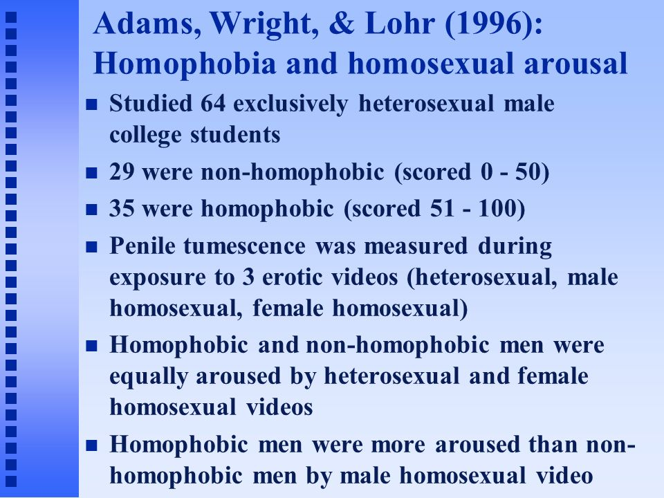 Non heterosexual male