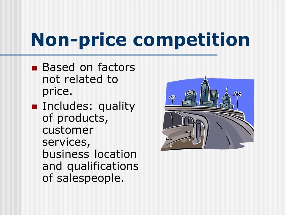 3 02 Explain the concept of competition   Competition The