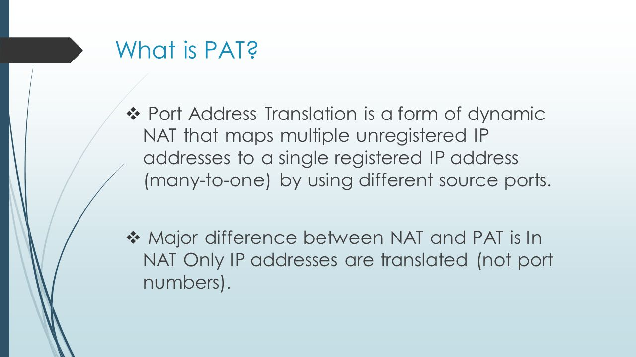 What is a pat