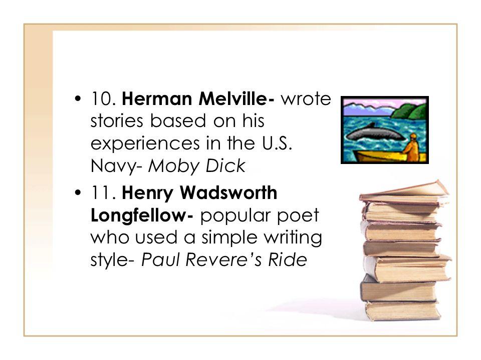herman melville writing style