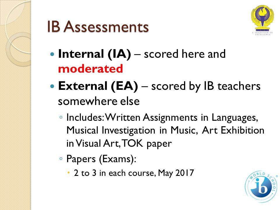 Junior IB Orientation September Agenda The IB Core ◦ TOK