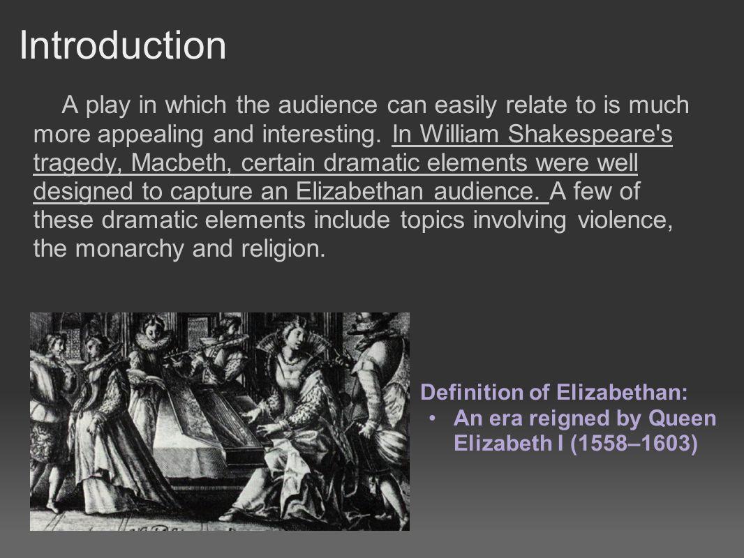 elizabethan tragedy wikipedia