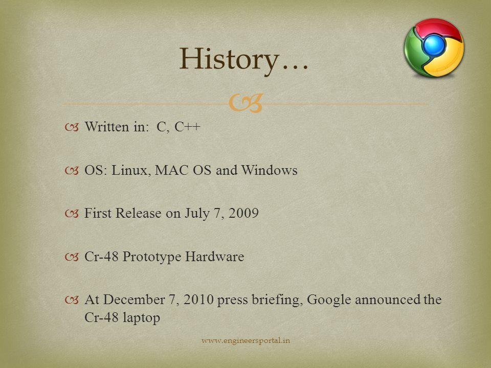 Presentation seminar on   Google Chrome OS is Linux