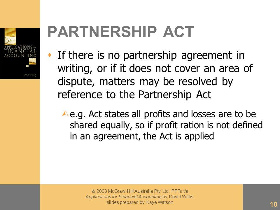 Chapter 2003 Mcgraw Hill Australia Pty Ltd Ppts Ta Applications