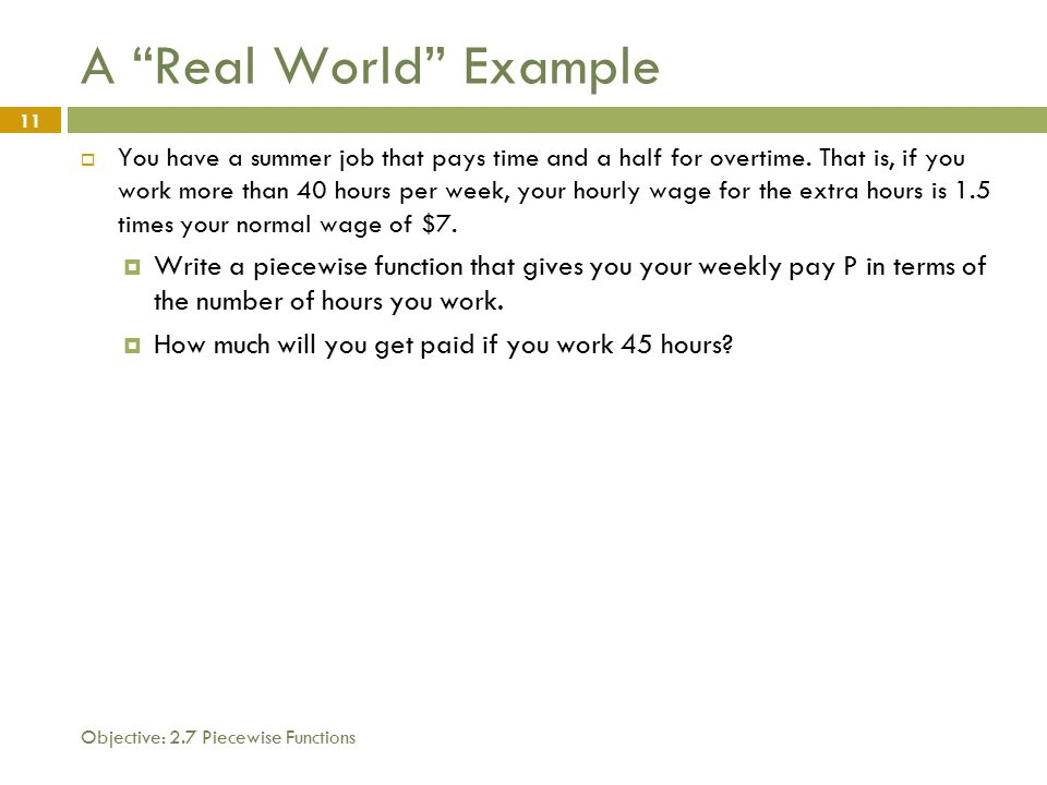 1 what you will learn today 1 how to evaluate piecewise functions 2