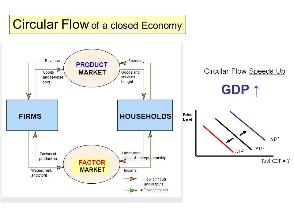 the circular flow of the economy Macroeconomics ii: the circular flow of income gavin cameron lady margaret hall hilary term 2004  economic activity is unmeasured, such as housework and the.