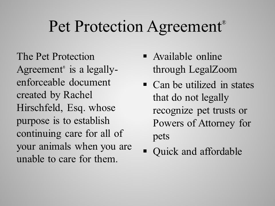 Estate Planning Seminar Ensuring Your Pets Welfare When You Cant