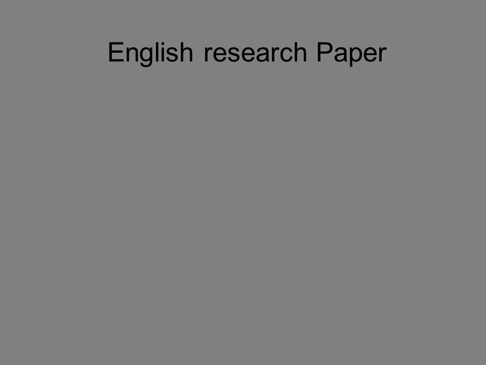 English research Paper  How do Thriller-suspense Authors hook and