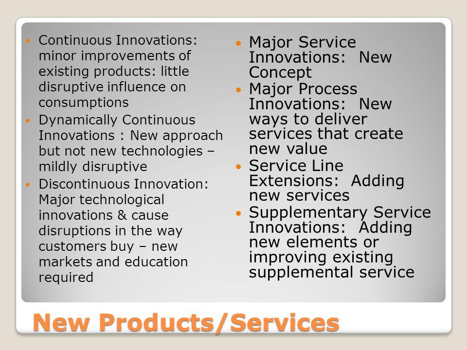 creating new markets through service innovation