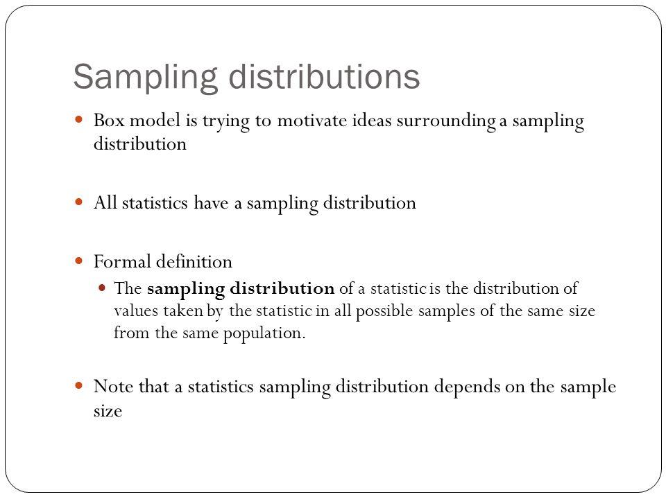 Try These Sampling Distribution Definition Statistics {Mahindra Racing}