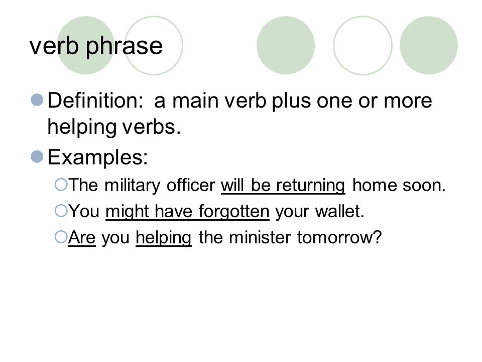"phrases & clauses. turn to page 3 in your packets. write ""phrase"" in"
