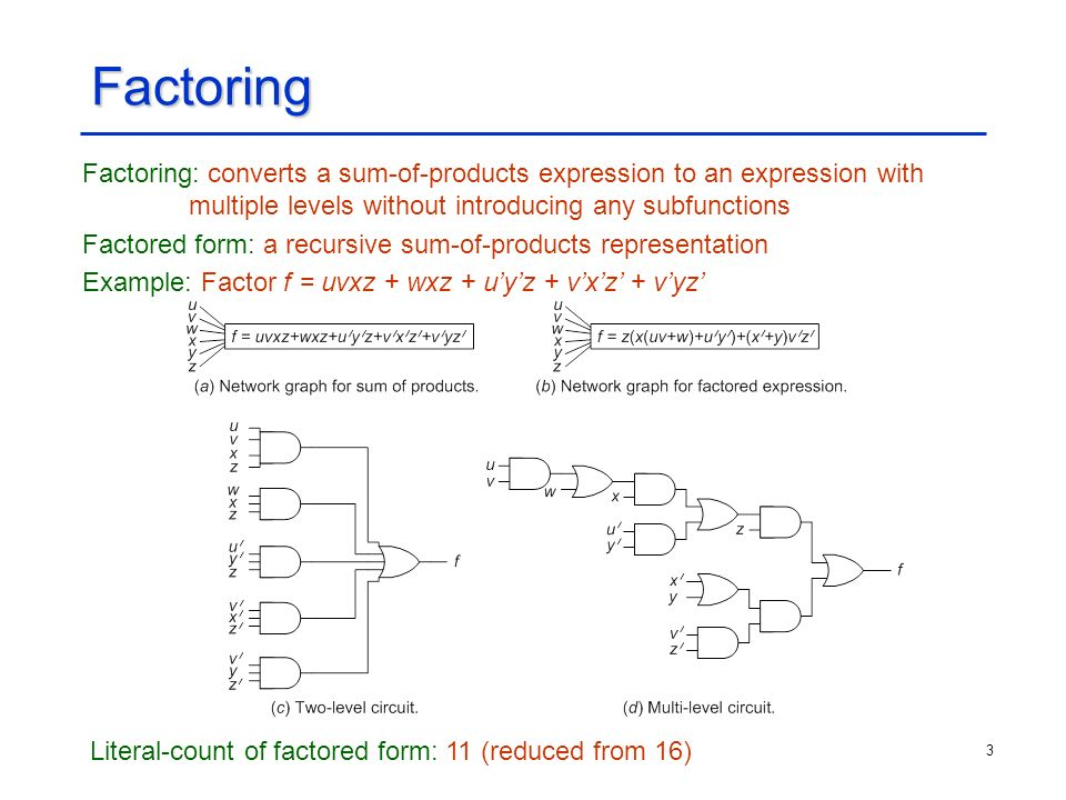 logic synthesis ppt