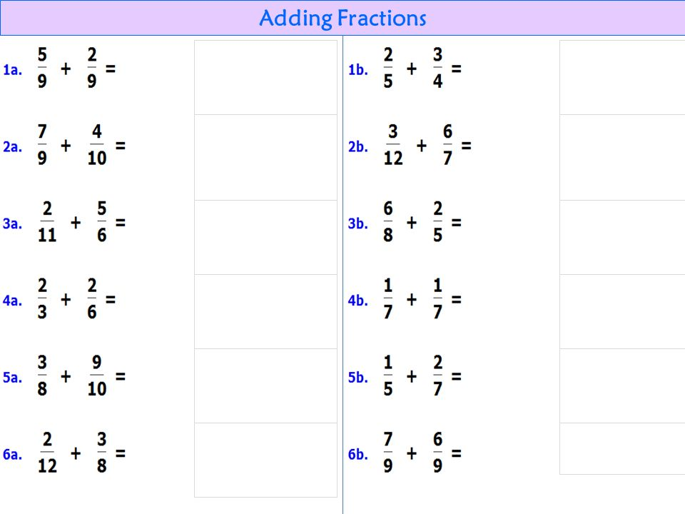 35 Adding Fractions Add Estimate the sum x = = Find the least common denominator ~...(find the LCM of 8 and 5)..