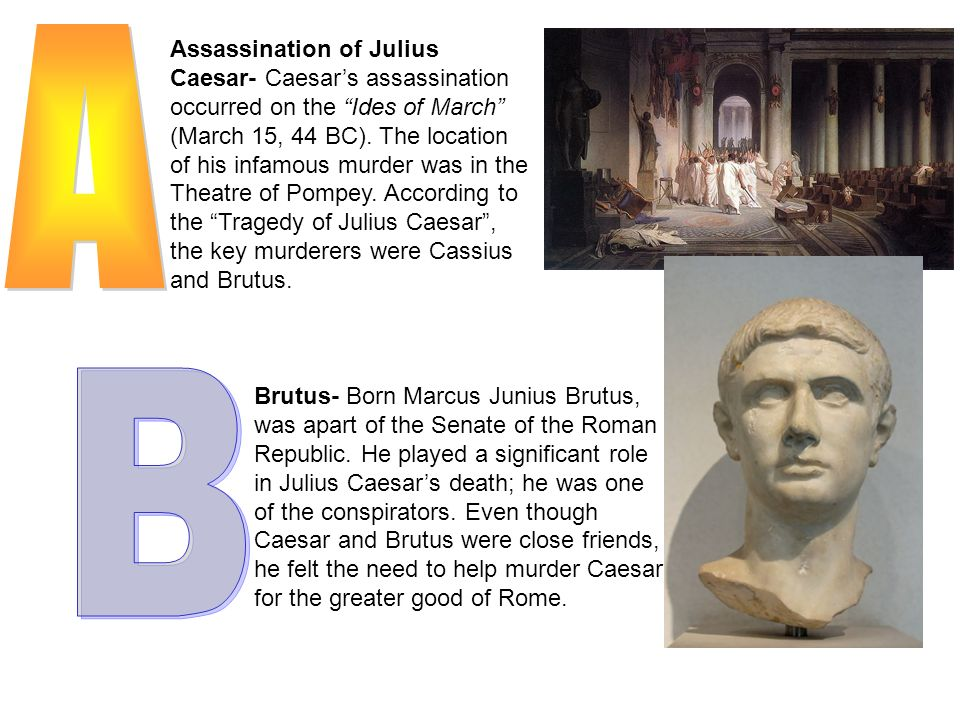 julius caesar 15 essay Argumentative essay on julius caesar the death of julius caesar was a bitter and gruesome one he died by the hand of his friend brutus and his own group of senators who badly mutilated his body.