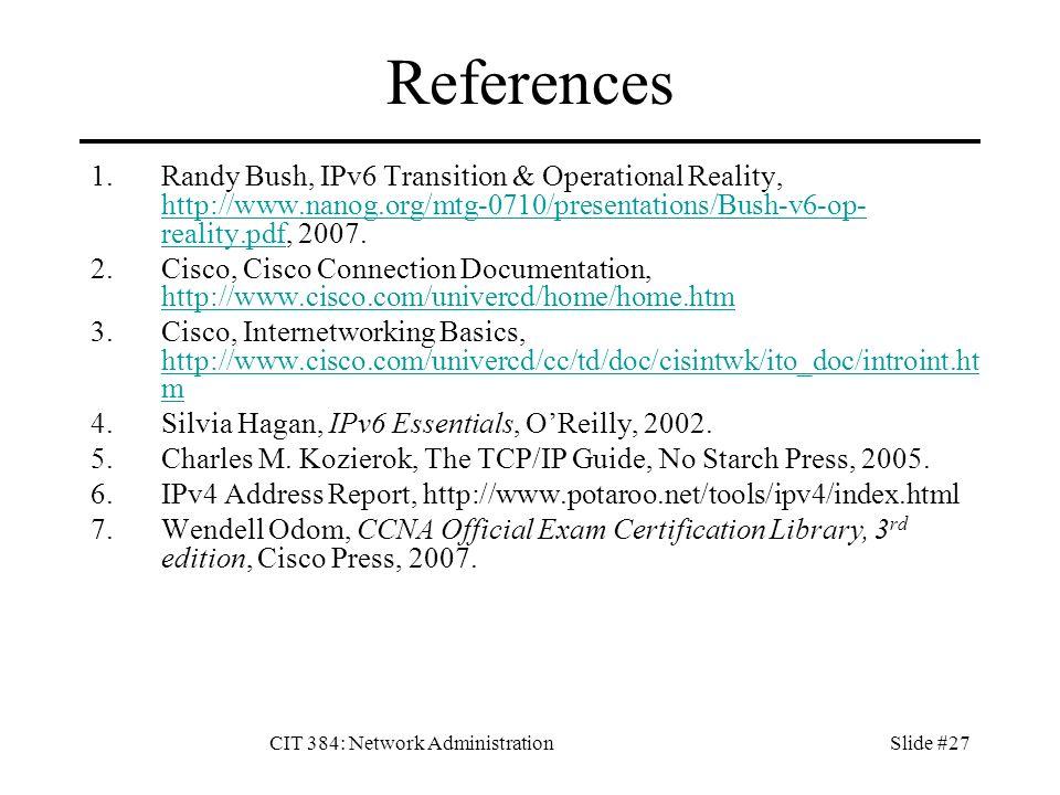 Ipv6 Network Administration Pdf