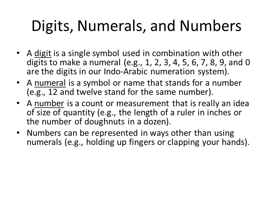 Mth 231 Numeration Systems Past And Present Overview In Chapter 3