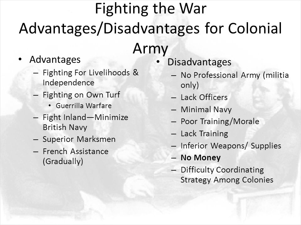 disadvantages of colonialism