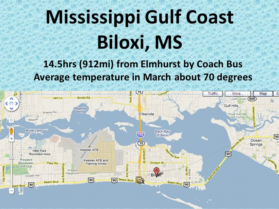 Mississippi Gulf Coast Biloxi Ms 14 5hrs 912mi From Elmhurst By