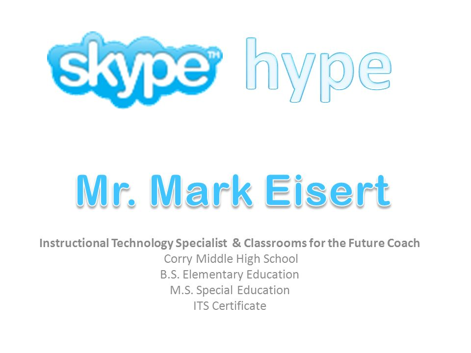 Instructional Technology Specialist Classrooms For The Future