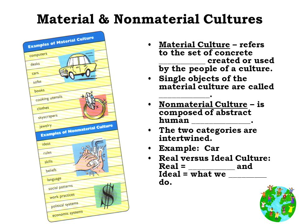 culture and differentiate between material nonmaterial Welcome to the best place for mcat prep and practice materials the mcat (medical college admission test) is offered by the aamc and is a required exam for admission to medical schools in the usa and canada.