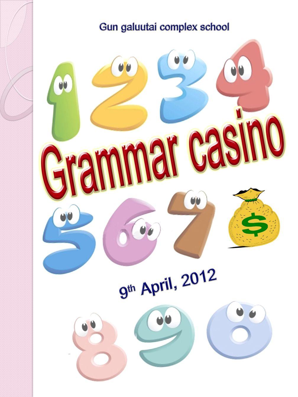 Grammar casino game casino software