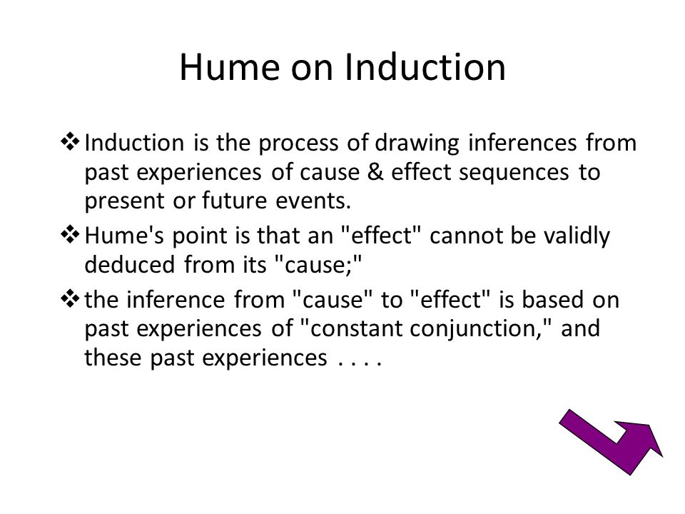 Humes Problems with Induction