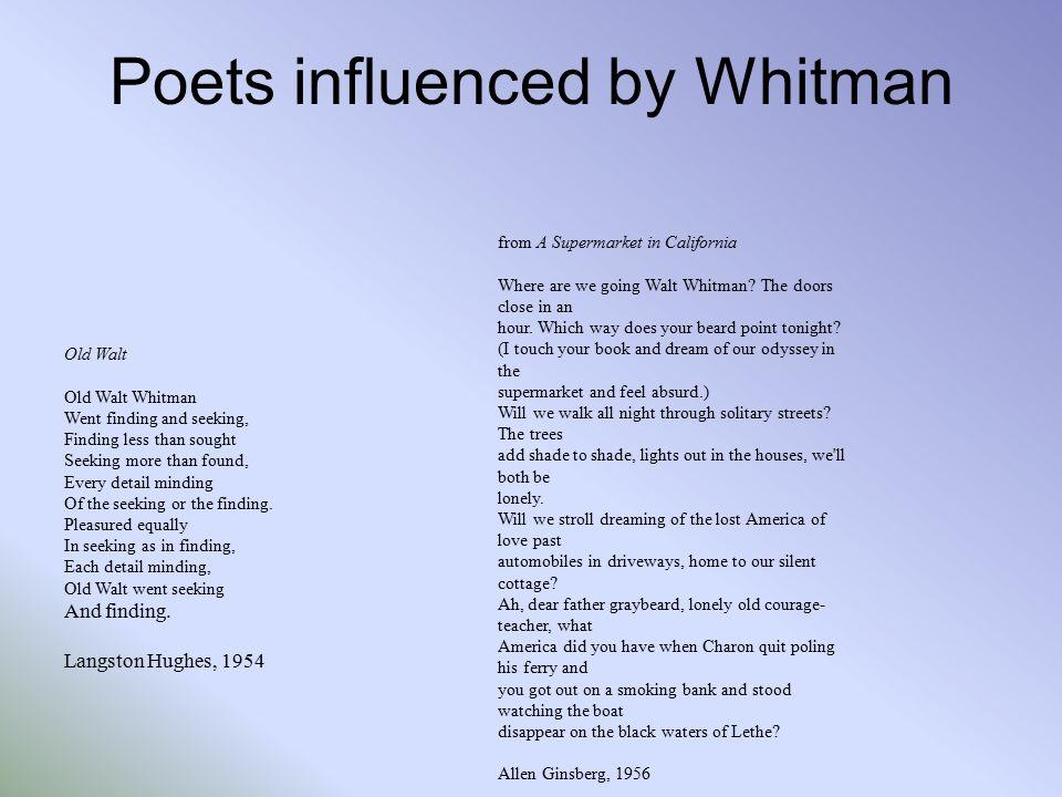 walt whitman the good gray poet walt whitman born long island
