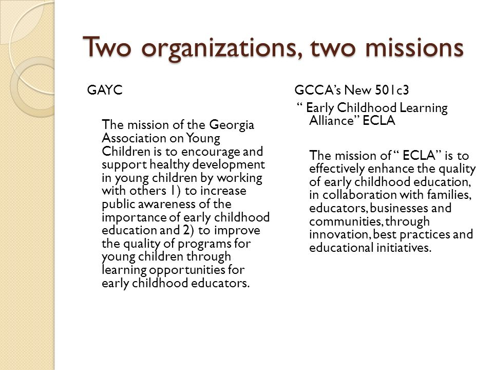 Gayc And Gcca Partnership Two Organizations Two Missions Gayc The
