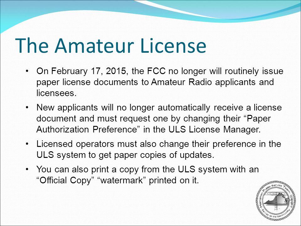 fcc-amateur-licensing