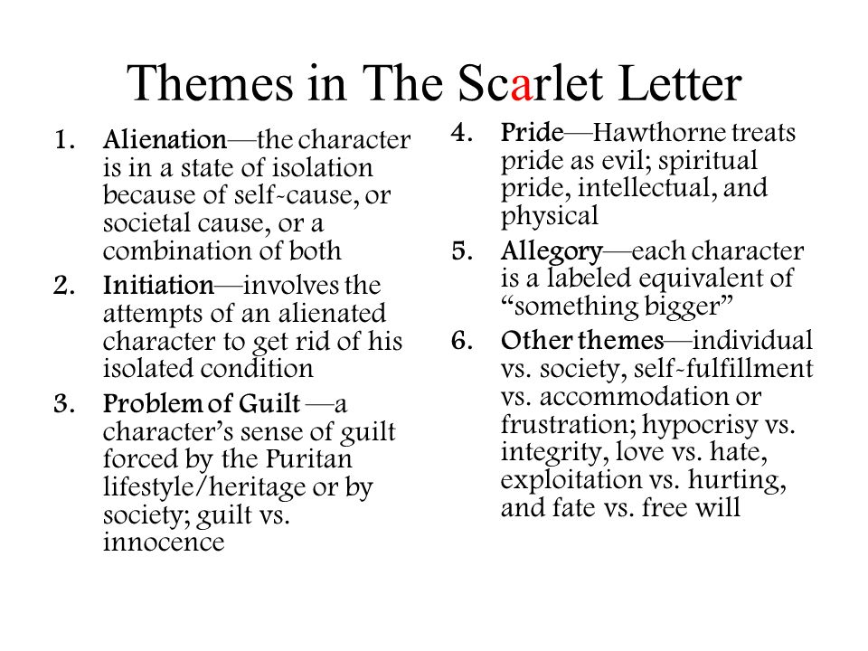 The Scarlet Letter by Nathaniel Hawthorne Hawthorne Hawthorne is