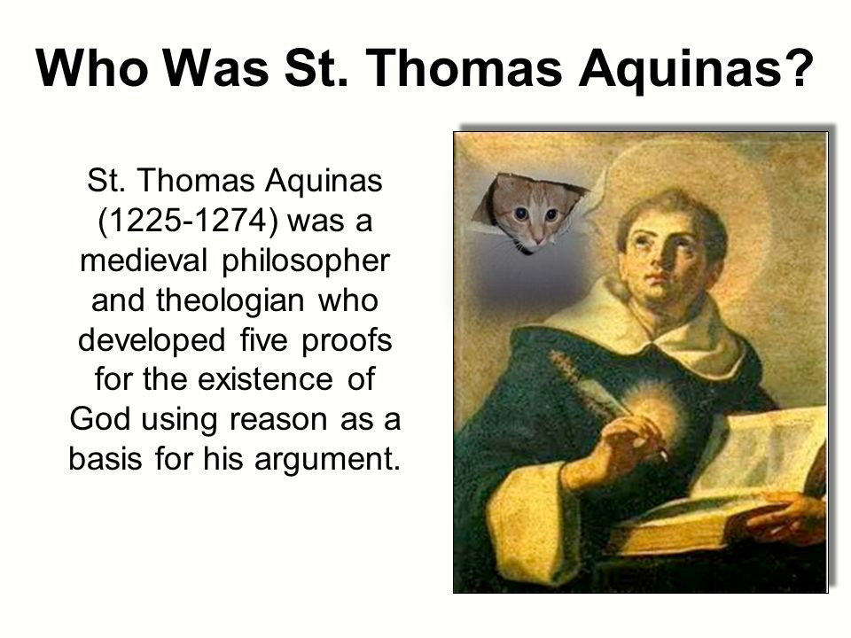 st. thomas aquinas essay Pieper, in these three essays, describes what we have to learn from the works and life of aquinas the essays detail the scholastic arguements of the day and how thomas, in the true spirit of open mindedness (his life and method are the definition of this oft abused term) brought some peace ond understanding to the various sides, a very serious matter in his day.