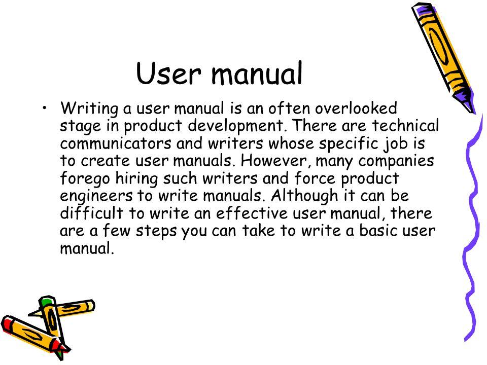 equipment user manual technical writing yasir jan college of eme rh slideplayer com Malibu Low Voltage Transformer Manual Owner's Manual