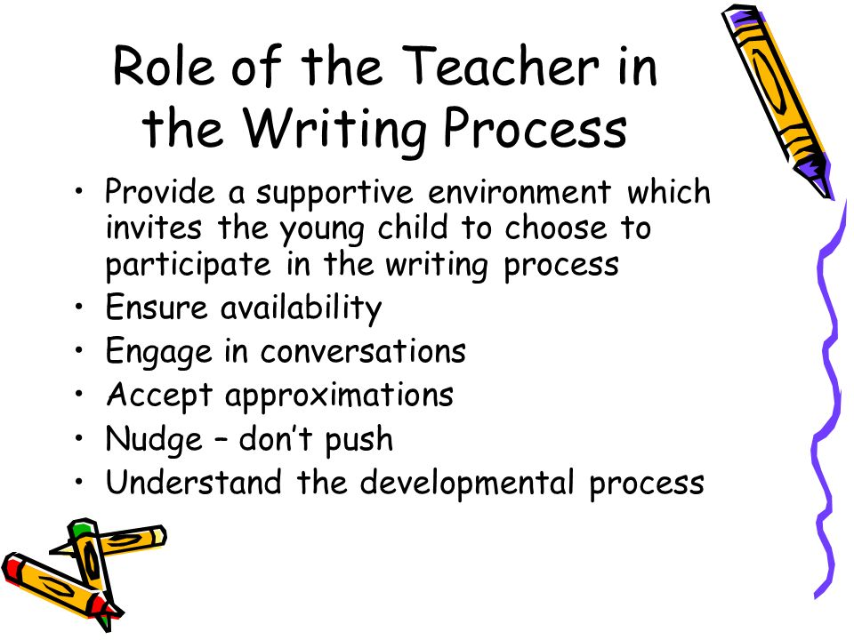 Image result for supportive teacher of writing