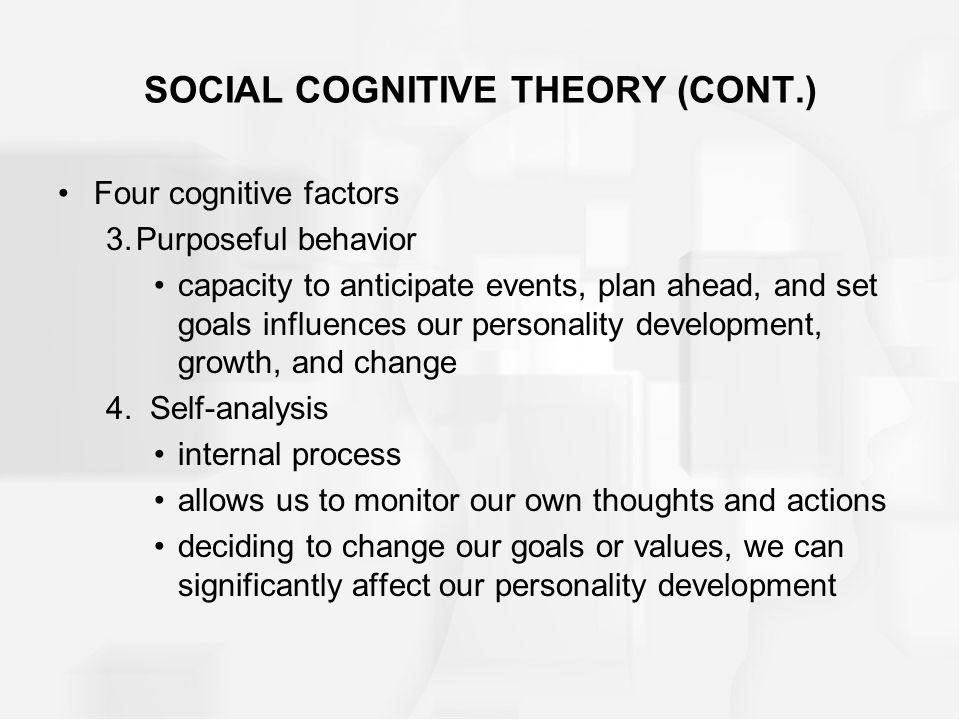 Module 20 Social Cognitive & Trait Theories. SOCIAL COGNITIVE THEORY ...