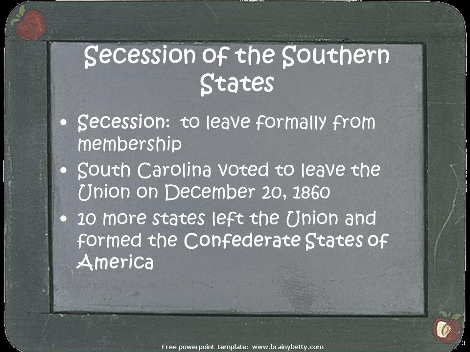 Unit 3 The Civil War Reconstruction Causes Of The Civil War North
