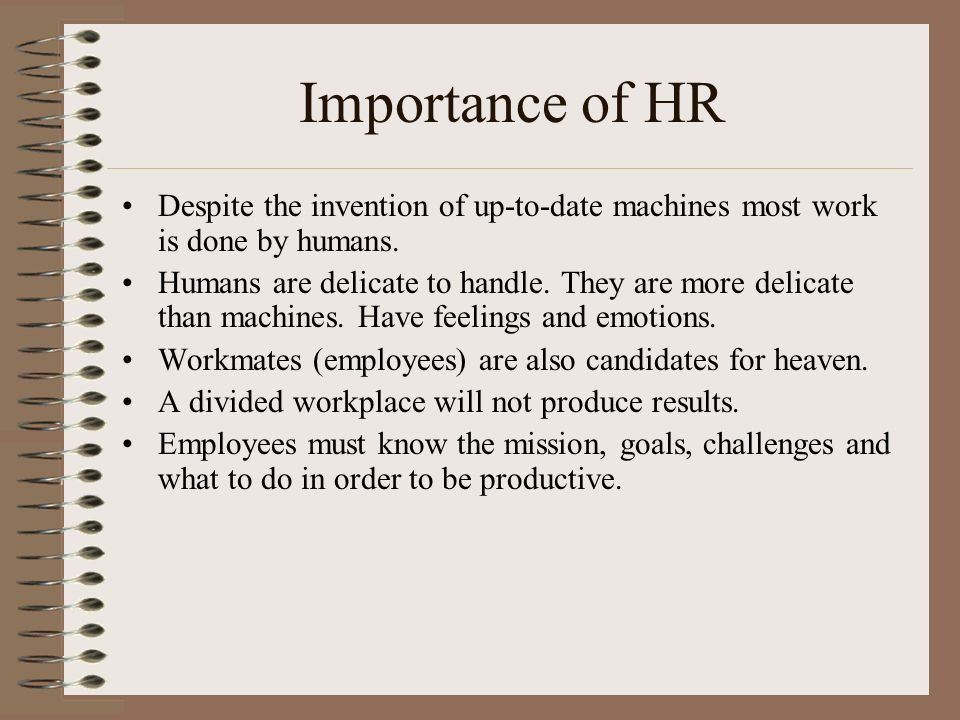 Human Resource Management and Planning A critical