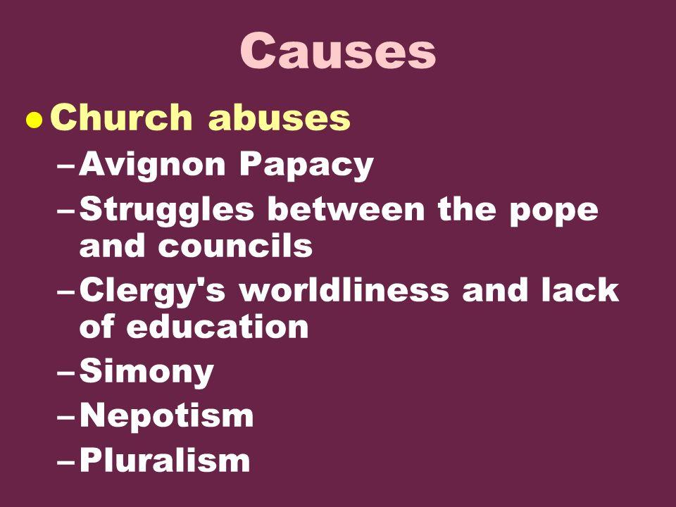 simony definition reformation