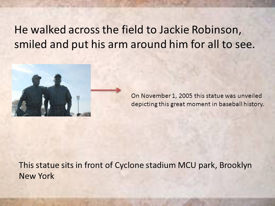 Background Jack Roosevelt Robinson was born in Cairo